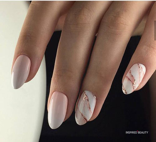 Almond Acrylic Nail Designs