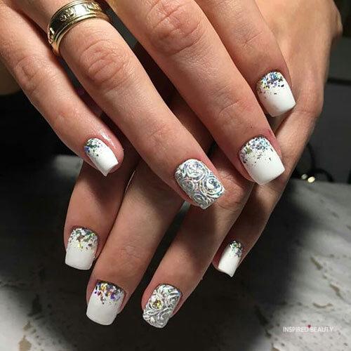 cute Short Acrylic Nails