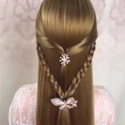 Hairstyle, hair tips, hair video