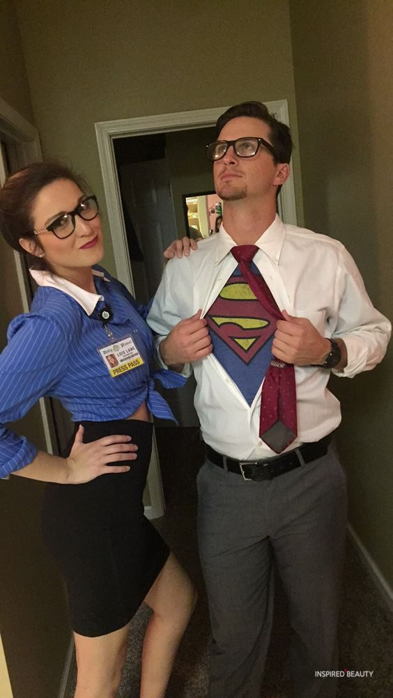 superman and lois lane halloween costumes