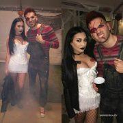 Chucky and Tiffany . Bride of Chucky h
