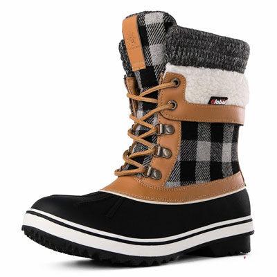 Global Win Globalwin Women's Waterproof Winter Snow Boots