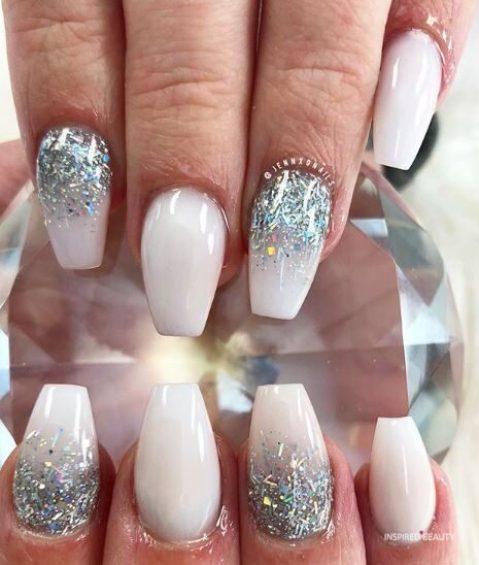 nail coffin designs