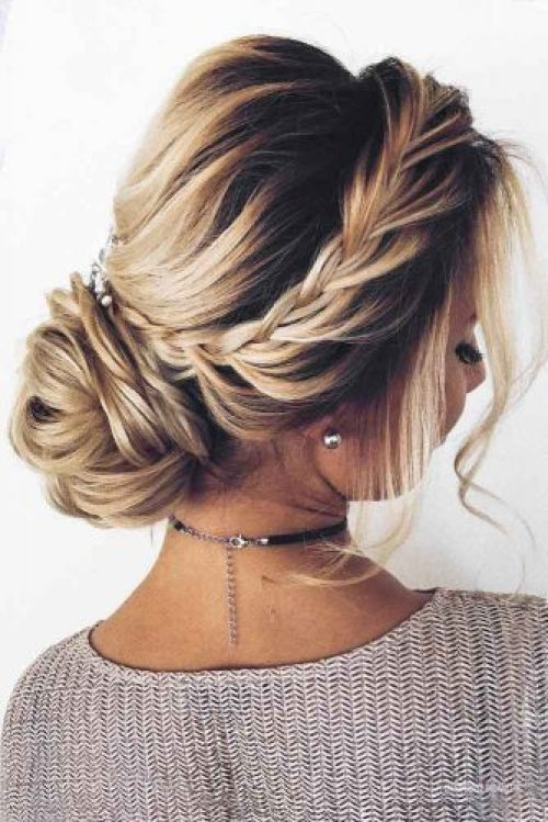 Updo Braid Hairstyle