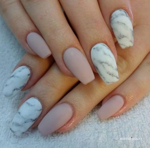 31 cute acrylic nail coffin designs  inspired beauty