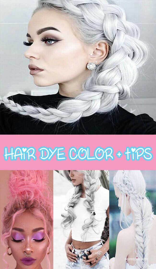 Hair Dye color