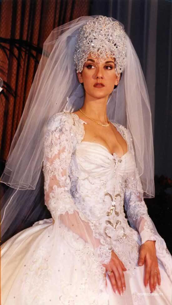 Celine-Dion-Wedding-Dress