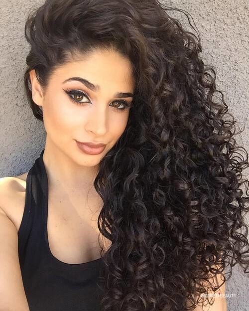 Naturally curly