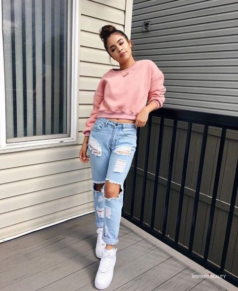College Party Outfits jeans