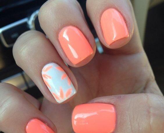 summer nails designs beach