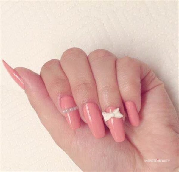 Girly Modern Nails