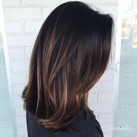 Hair colors for brunettes