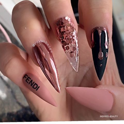 long stiletto nails design modern and easy idea  inspired