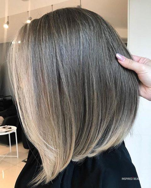 Medium Length Layered Hair amazing color