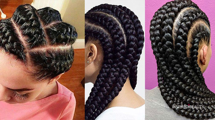 goddess braids cornrows