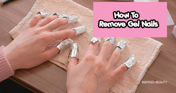 How to Remove gel nails Polish at home