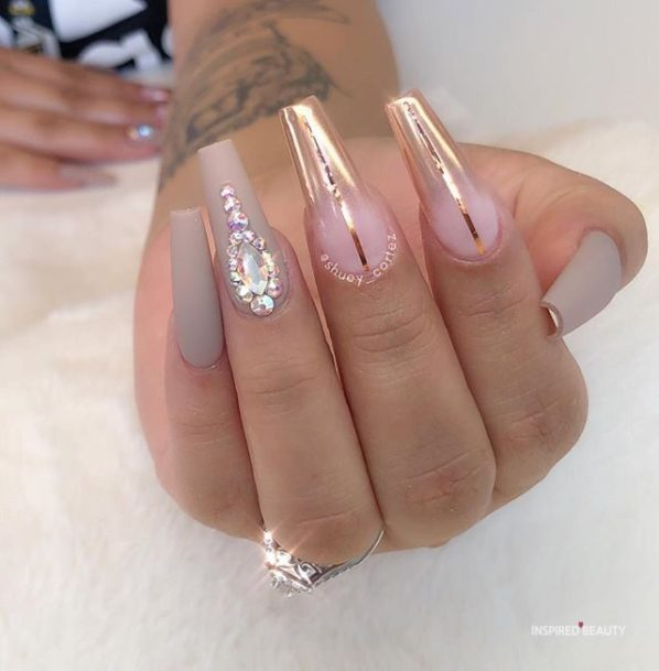 Modern coffin nails