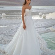 beach wedding dress