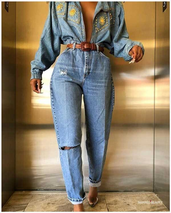 Vintage Jeans Outfits