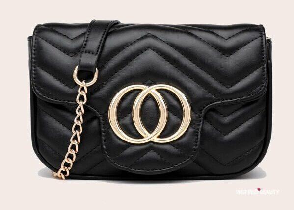 Black Designer bag dupes Gucci