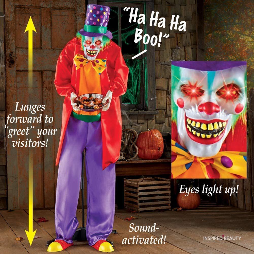 clown Scary Halloween Decorations indoor ideas