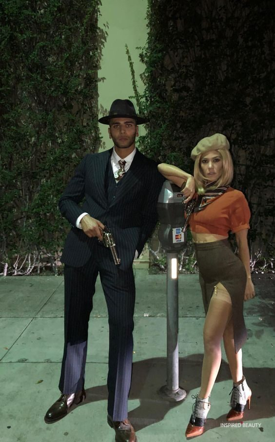 mafia halloween costumes for couples