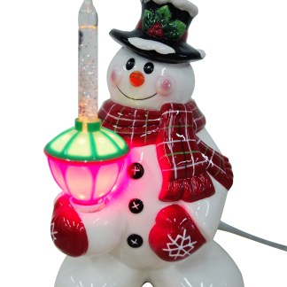youre viewing snowman night light with glitter bubble light 2499