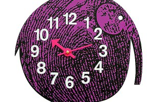 George Nelson Elihu the Elephant Clock, 1965