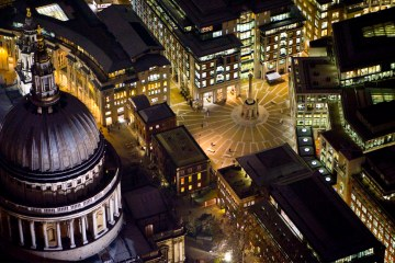 Нічний Лондон з висоти