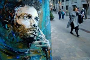 Стріт-арт французького художника Крістіана Ґимі
