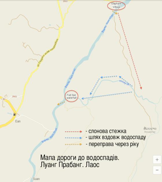 мапа Лаос