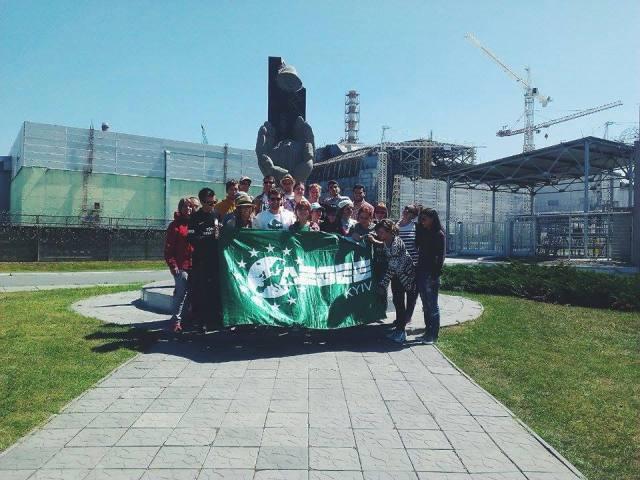 RadioActive в Чорнобилі