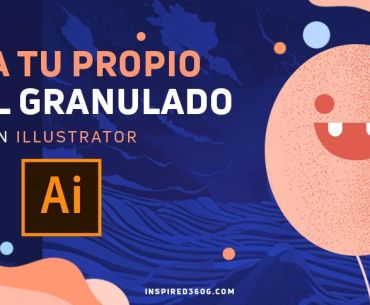 pincel granulado en Illustrator