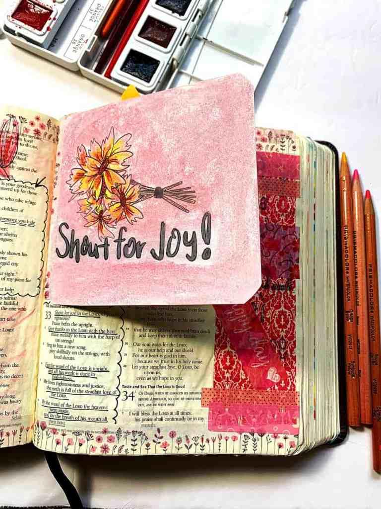 Easter Bible Journaling Tip-Ins