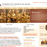 Site Inspiration - Cathedral of St. Matthew the Apostle in Washington, D.C.