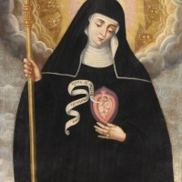 St. Gertrude the Great - and my little miracle