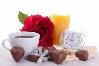 Coffee Mug w/Chocolates & Tea