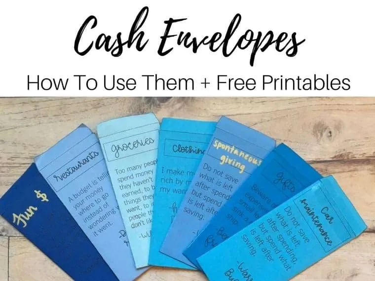 cash envelope by inspiredbudget.com
