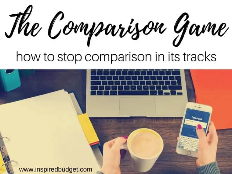 comparing comparison by inspiredbudget.com