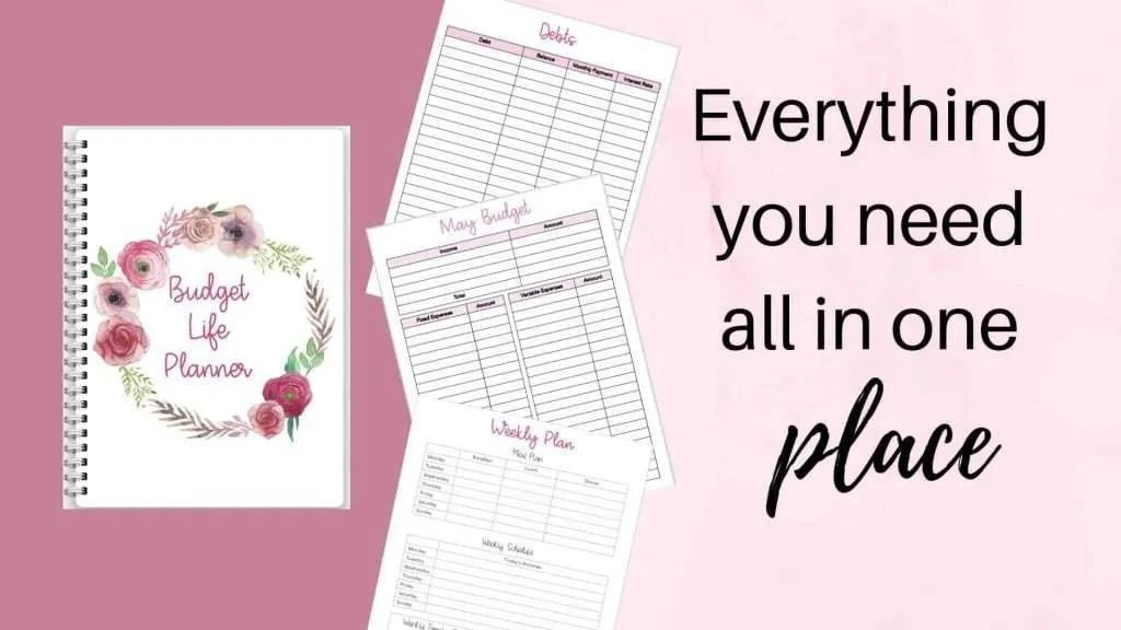 Budget Life Planner by InspiredBudget