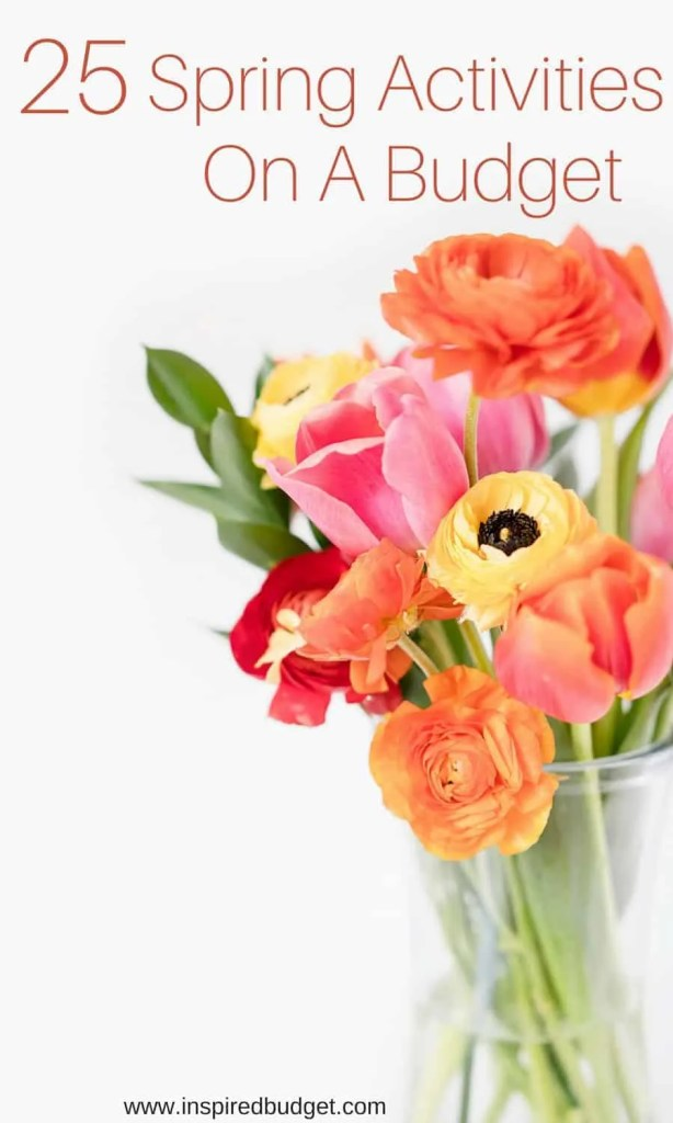 spring activities on a budget by www.inspiredbudget.com