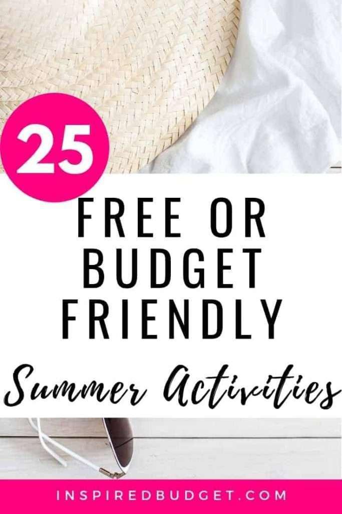 Budget Friendly Summer Activities by InspiredBudget.com