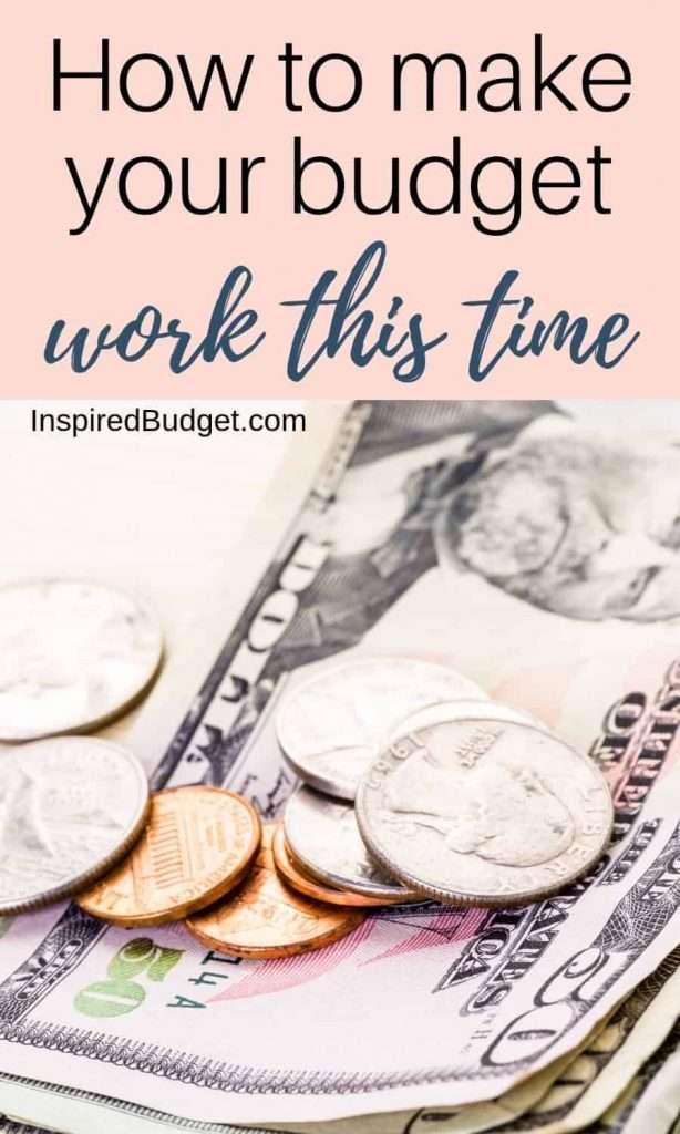 Make Your Budget Work by InspiredBudget.com