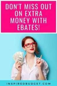 Ebates with InspiredBudget.com