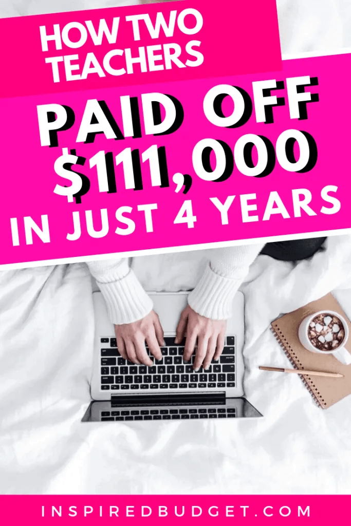 How We Paid Off $111,000 of Debt by InspiredBudget.com