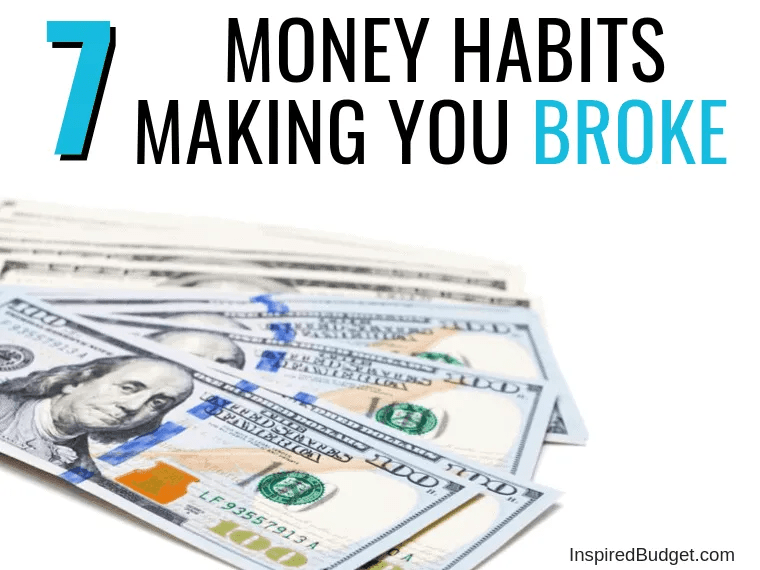 Money Habits by InspiredBudget.com