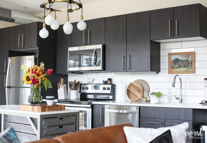 Tips And Ideas For Styling Stocking An Apartment Kitchen Inspired By Charm