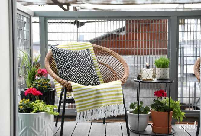 6 Ideas To Add Style A Small Balcony Or Patio