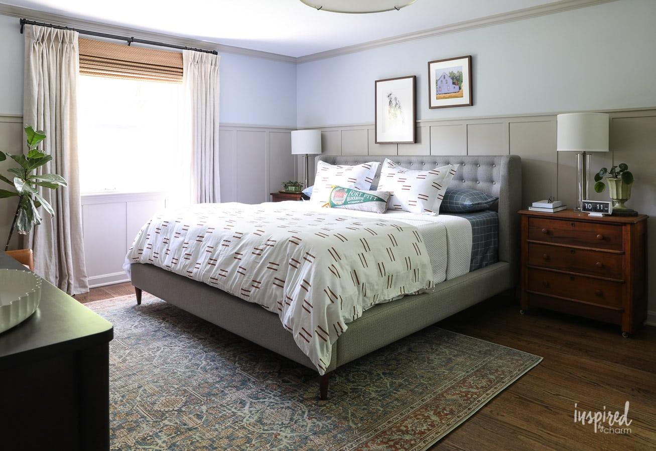 Master Bedroom Makeover Reveal: Decorating Ideas on Master Bedroom Ideas  id=48107