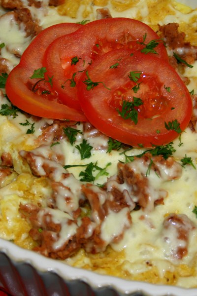South of the Border Breakfast Casserole